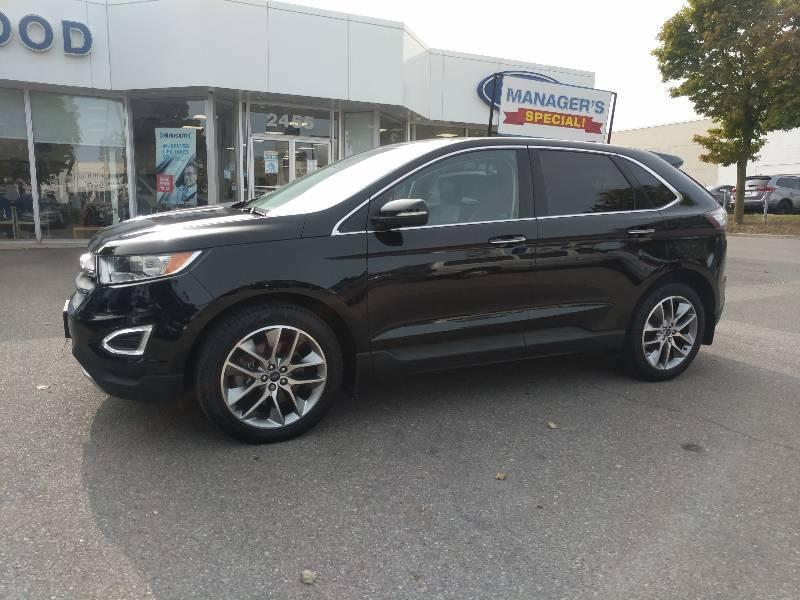 Used 2018 Ford Edge Titanium J201162A
