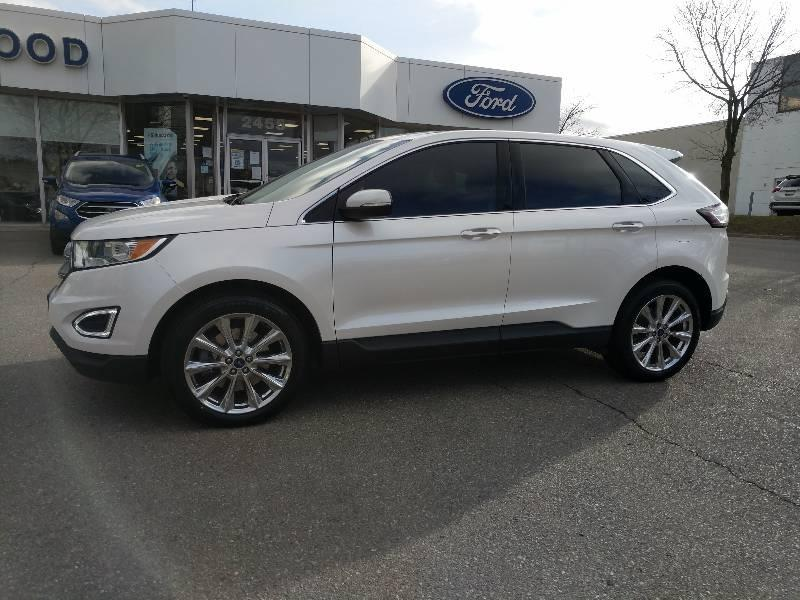 used 2017 Ford Edge car, priced at $27,988
