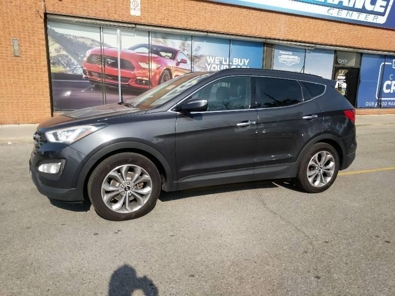 used 2016 Hyundai Santa Fe car, priced at $16,096